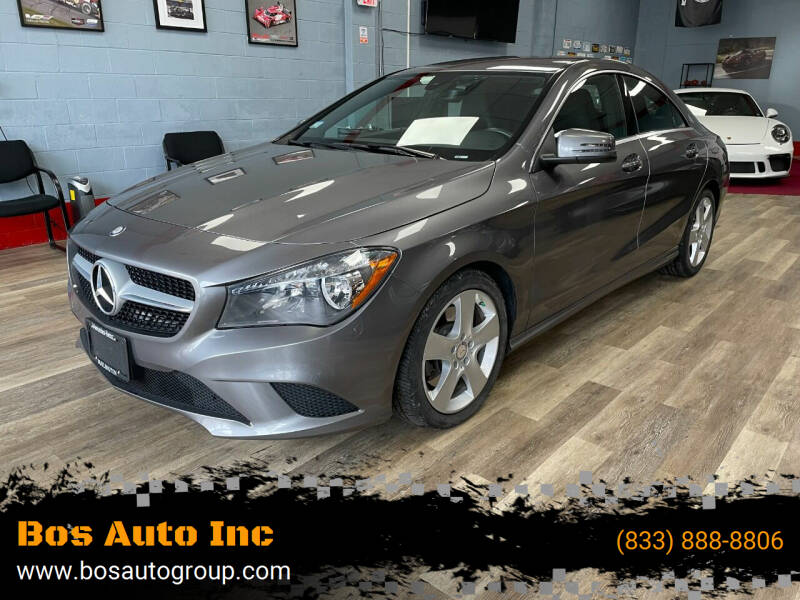 2015 Mercedes-Benz CLA for sale at Bos Auto Inc in Quincy MA