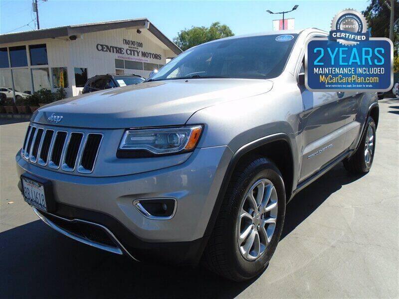 2015 Jeep Grand Cherokee for sale at Centre City Motors in Escondido CA