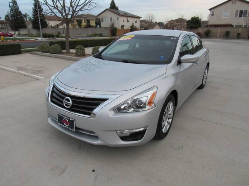 2015 Nissan Altima for sale at Repeat Auto Sales Inc. in Manteca CA