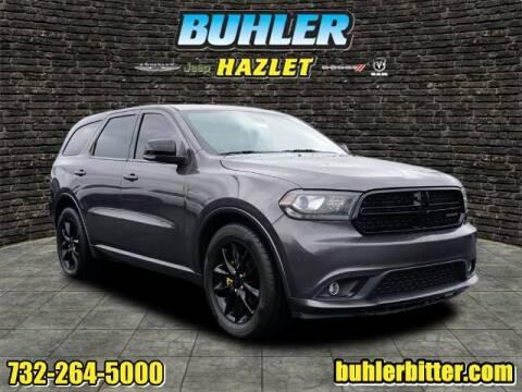 2015 Dodge Durango for sale at Buhler and Bitter Chrysler Jeep in Hazlet NJ