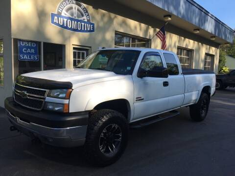 2005 Chevrolet Silverado 3500 for sale at HUDSON ROAD AUTOMOTIVE in Stow MA