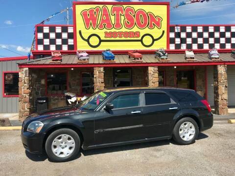2005 Dodge Magnum for sale at Watson Motors in Poteau OK
