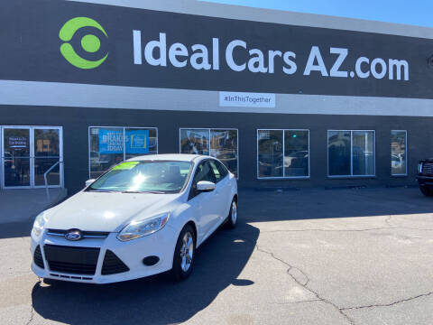 2013 Ford Focus for sale at Ideal Cars in Mesa AZ