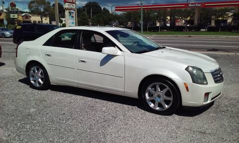 2004 Cadillac CTS for sale at Pinellas Auto Brokers in Saint Petersburg FL