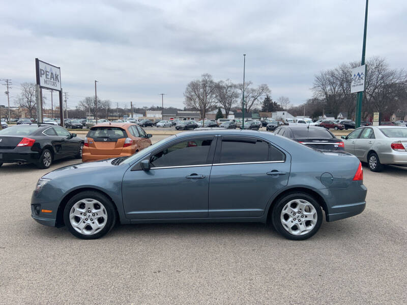 2011 Ford Fusion for sale at Peak Motors in Loves Park IL