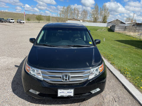 2011 Honda Odyssey for sale at GILES & JOHNSON AUTOMART in Idaho Falls ID