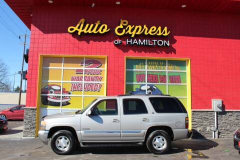 2004 GMC Yukon for sale at AUTO EXPRESS OF HAMILTON LLC in Hamilton OH