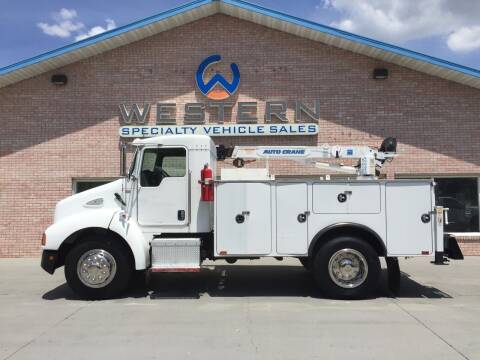 2007 Kenworth Mechanics Truck for sale at Western Specialty Vehicle Sales in Braidwood IL