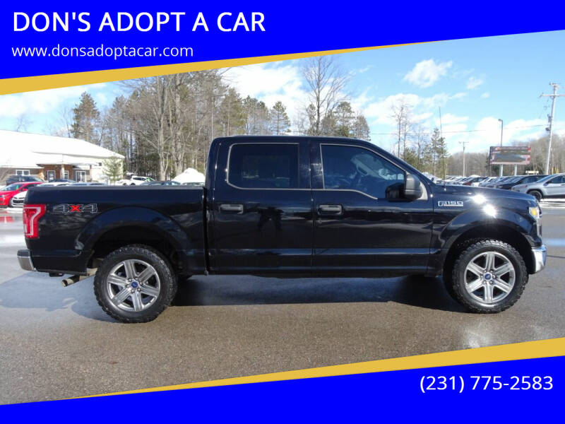 2016 Ford F-150 for sale at DON'S ADOPT A CAR in Cadillac MI