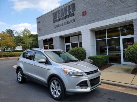 2014 Ford Escape for sale at Weaver Motorsports Inc in Cary NC