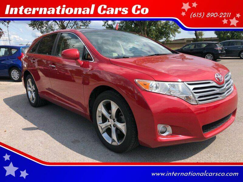 2010 Toyota Venza for sale at International Cars Co in Murfreesboro TN