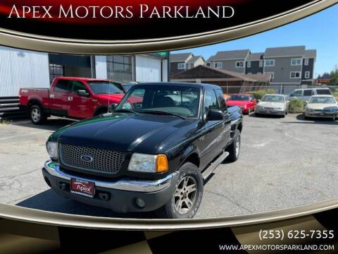 2002 Ford Ranger for sale at Apex Motors Parkland in Tacoma WA