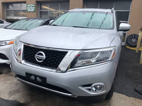 2013 Nissan Pathfinder for sale at Ultra Auto Enterprise in Brooklyn NY