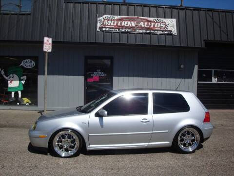 2002 Volkswagen GTI for sale at Motion Autos in Longview WA