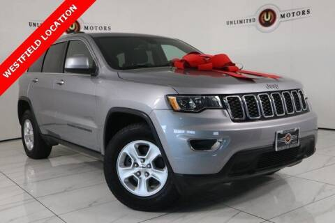 2017 Jeep Grand Cherokee for sale at INDY'S UNLIMITED MOTORS - UNLIMITED MOTORS in Westfield IN