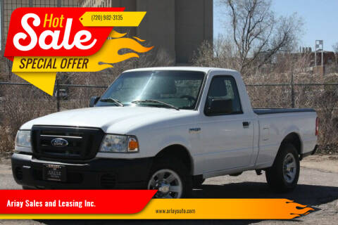 2011 Ford Ranger for sale at Ariay Sales and Leasing Inc. in Denver CO