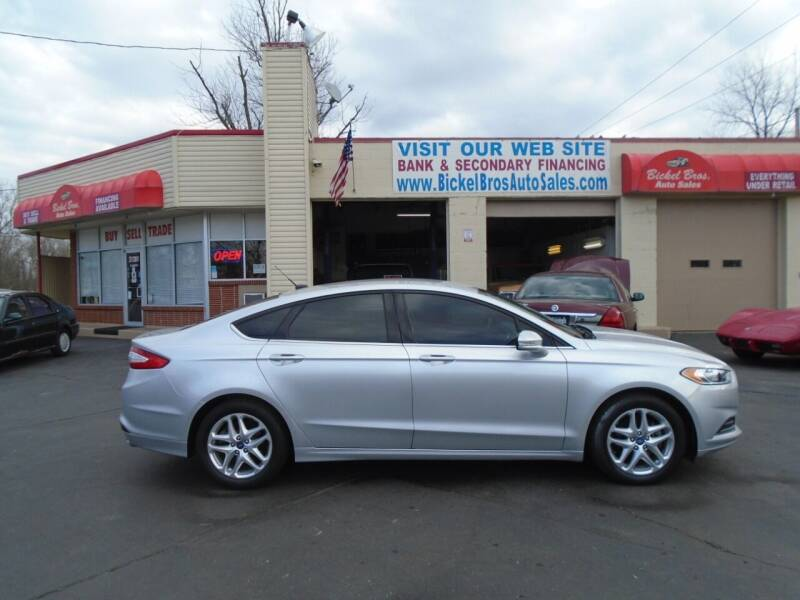 2013 Ford Fusion for sale at Bickel Bros Auto Sales, Inc in Louisville KY