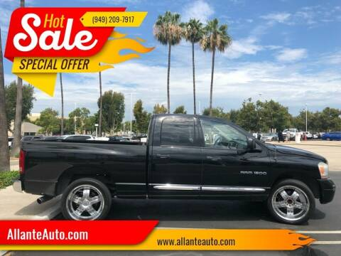 2006 Dodge Ram Pickup 1500 for sale at AllanteAuto.com in Santa Ana CA