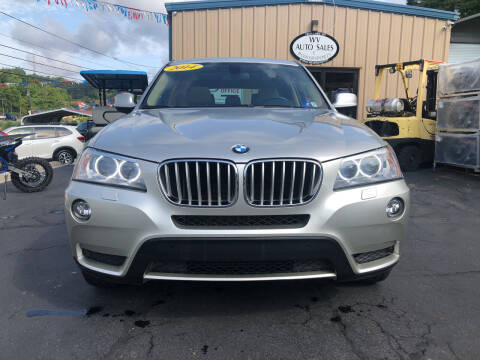 2014 BMW X3 for sale at W V Auto & Powersports Sales in Charleston WV