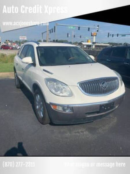 2012 Buick Enclave for sale at Auto Credit Xpress - Jonesboro in Jonesboro AR