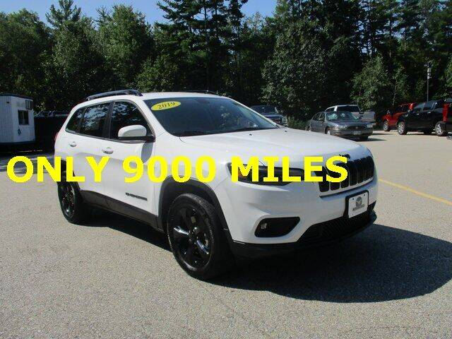 2019 Jeep Cherokee for sale at MC FARLAND FORD in Exeter NH