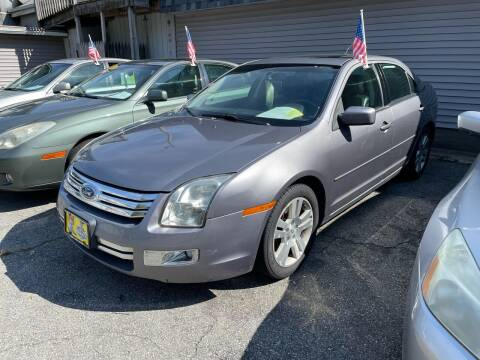 2007 Ford Fusion for sale at JK & Sons Auto Sales in Westport MA