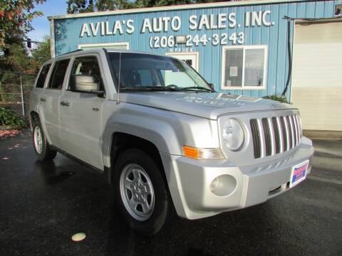 2009 Jeep Patriot for sale at Avilas Auto Sales Inc in Burien WA