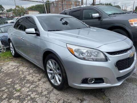 2013 Chevrolet Malibu for sale at Philadelphia Public Auto Auction in Philadelphia PA