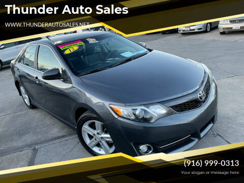 2012 Toyota Camry for sale at Thunder Auto Sales in Sacramento CA