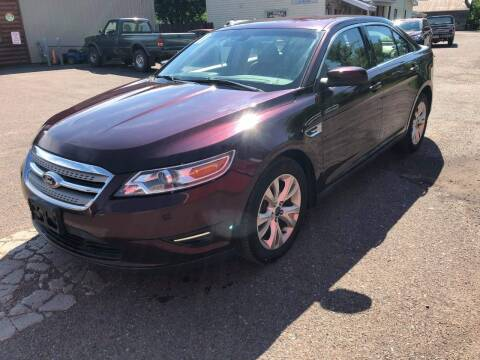 2011 Ford Taurus for sale at WB Auto Sales LLC in Barnum MN