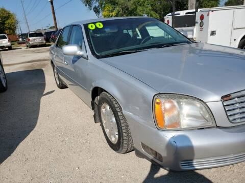 2000 Cadillac DeVille for sale at Buena Vista Auto Sales in Storm Lake IA