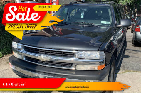 2005 Chevrolet Suburban for sale at A & R Used Cars in Clayton NJ