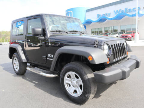2009 Jeep Wrangler for sale at RUSTY WALLACE HONDA in Knoxville TN