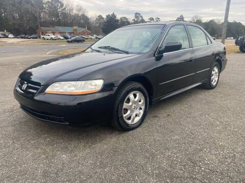 2002 Honda Accord for sale at CVC AUTO SALES in Durham NC