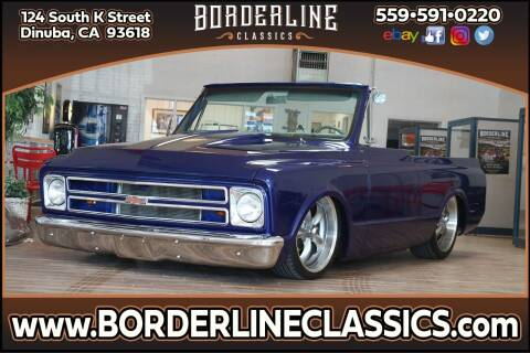 1971 Chevrolet Blazer for sale at Borderline Classics in Dinuba CA