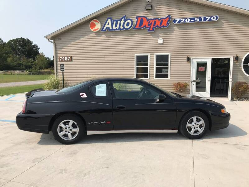 2003 Chevrolet Monte Carlo for sale at The Auto Depot in Mount Morris MI