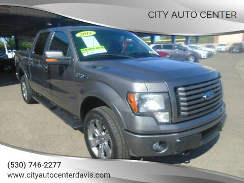 2011 Ford F-150 for sale at City Auto Center in Davis CA