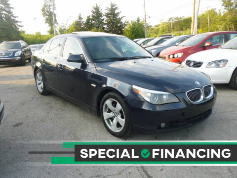 2007 BMW 5 Series for sale at I57 Group Auto Sales in Country Club Hills IL
