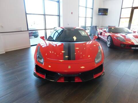 2020 Ferrari 488 Pista for sale at Shedlock Motor Cars LLC in Warren NJ