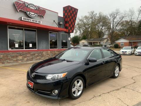 2014 Toyota Camry for sale at Chema's Autos & Tires in Tyler TX