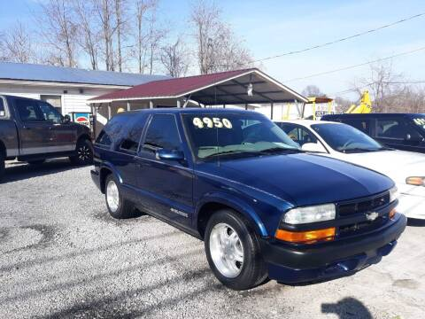 2004 Chevrolet Blazer for sale at Rocket Center Auto Sales in Mount Carmel TN