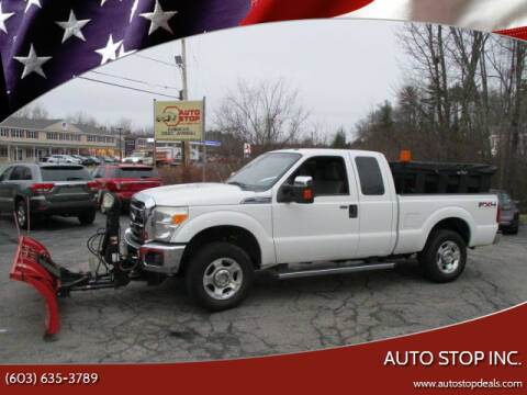 2011 Ford F-250 Super Duty for sale at AUTO STOP INC. in Pelham NH