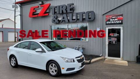 2012 Chevrolet Cruze for sale at EZ Tire & Auto in North Tonawanda NY
