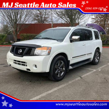 2014 Nissan Armada for sale at MJ Seattle Auto Sales in Kent WA
