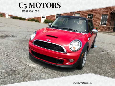 2011 MINI Cooper for sale at C5 Motors in Marietta GA