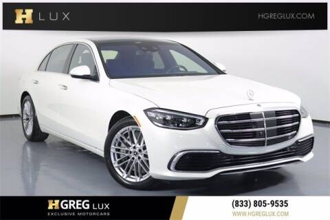 2021 Mercedes-Benz S-Class for sale at HGREG LUX EXCLUSIVE MOTORCARS in Pompano Beach FL