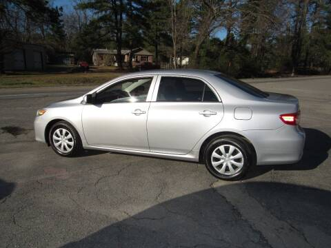 2013 Toyota Corolla for sale at Evans Motors Inc in Little Rock AR