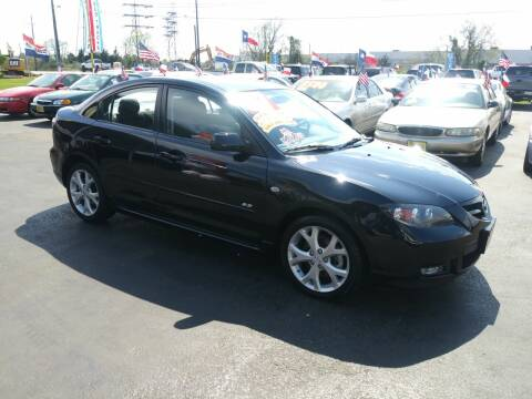 2007 Mazda MAZDA3 for sale at Texas 1 Auto Finance in Kemah TX