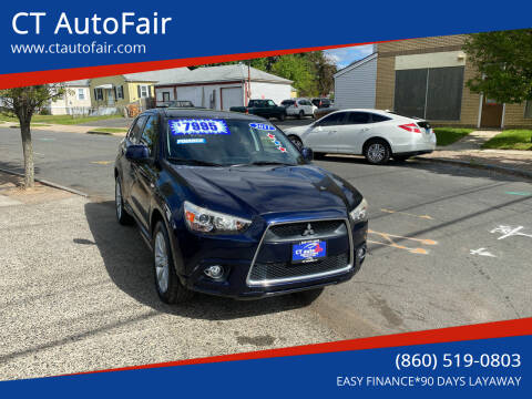 2011 Mitsubishi Outlander Sport for sale at CT AutoFair in West Hartford CT