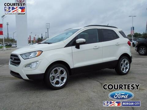 2021 Ford EcoSport for sale at Courtesy Toyota & Ford in Morgan City LA